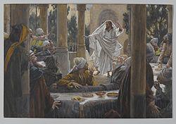 James Tissot: Curses Against the Pharisees