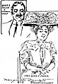 Brooklyn politician Bird S. Coler and wife Emily Moore sketched by Marguerite Martyn July 1908.jpg