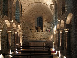 Basilica of the Holy Blood - Romanesque St Basil chapel