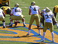 Bruins on offense at UCLA at Cal 2010-10-09 5.JPG