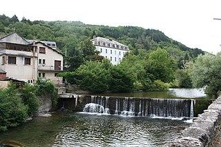 Dourdou de Camarès River in southern France