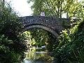Bruton Somerset Packhorse Bridge Jul 06.jpg