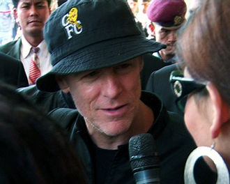 Bryan Adams - Adams during the concert to Nepal in 2011