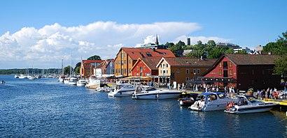 Hvordan komme seg til Tønsberg med offentlig transport - Om stedet