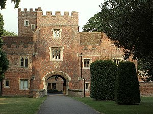 Buckden Towers - Entrance to Buckden Towers