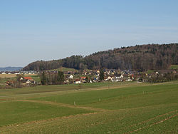 Skyline of Büttikon