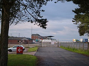Exeter Racecourse - Stands at Exeter Racecourse