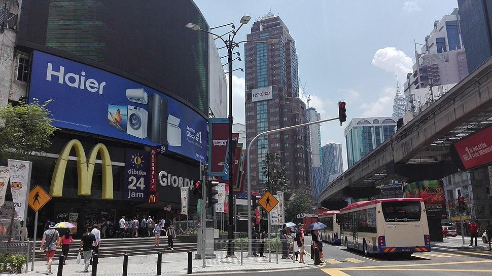Bukit Bintang intersection