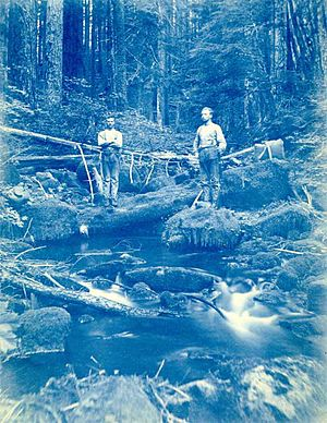 Bull Run River (Oregon) - Exploration of the Bull Run River in 1891