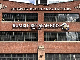 Bumble Bee Foods - Bumble Bee Seafoods Building in San Diego's Petco Park