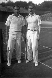 Bundesarchiv Bild 102-08950, Tennismeister Moldenhauer und Prenn