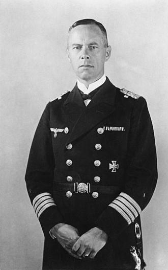 Günther Lütjens - as Kapitän zur See