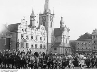 Litoměřice - Occupation, 1938