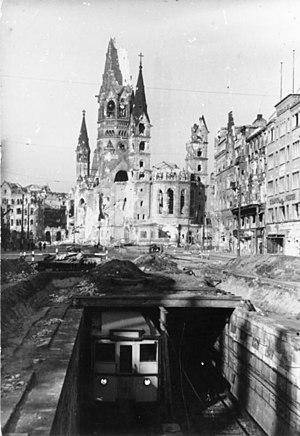 Tauentzienstraße - 1945 condition
