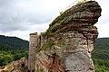 Burg Fleckenstein - Hirschthal–Lembach - Unterelsass (Frankreich) - 201308.JPG