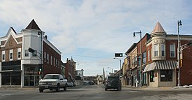 Burlington Downtown Historic District Looking southwest WIS36.jpg