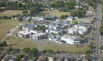 Burnside High School - Aerial view of Burnside High