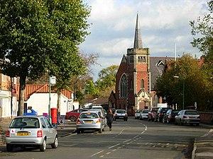 Burton Joyce - Image: Burton Joyce geograph.org.uk 278206