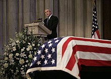 Death And State Funeral Of Gerald Ford Wikipedia