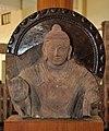 Bust of Buddha in Abhaya Mudra - Kushan Period - ACCN 39-2831 - Government Museum - Mathura 2013-02-23 5694.JPG