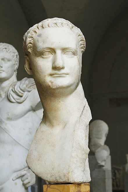 Domitian, Capitoline Museums, Rome Bust of Domitian (loan from Capitoline Museums) - Glyptothek - Munich - Germany 2017 (2).jpg