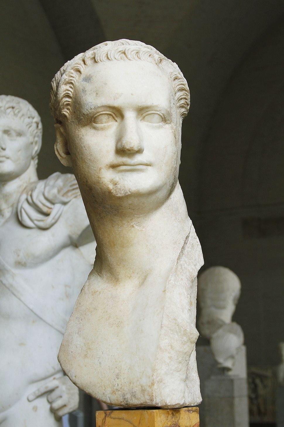Bust of Domitian (loan from Capitoline Museums) - Glyptothek - Munich - Germany 2017 (2)