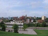 Butler PA skyline