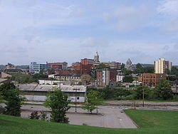 View of Butler from the Southside neighborhood