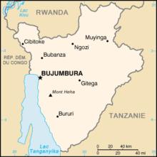 Géographie du Burundi — Wikipédia