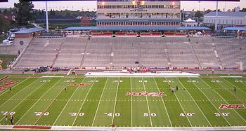 Description de l'image Byrd Stadium home side 2005.jpg.