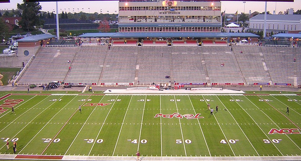 Byrd Stadium home side 2005
