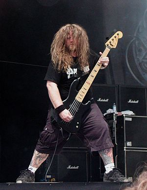 Byron Stroud - Byron Stroud during a Strapping Young Lad exhibition in 2005