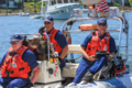 A Coast Guard Auxiliary safety patrol in Portland, Oregon in 2014.