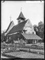 CH-NB - Scherzligen, reformierte Kirche, vue partielle extérieure - Collection Max van Berchem - EAD-6699.tif