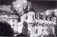 CP Chateau de Rouville Malesherbes, Loiret, Centre, France.jpg