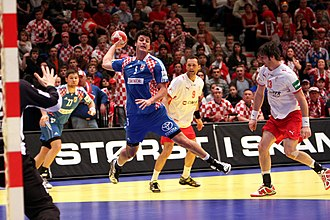 Croatia national handball team - Domagoj Duvnjak current national team captain