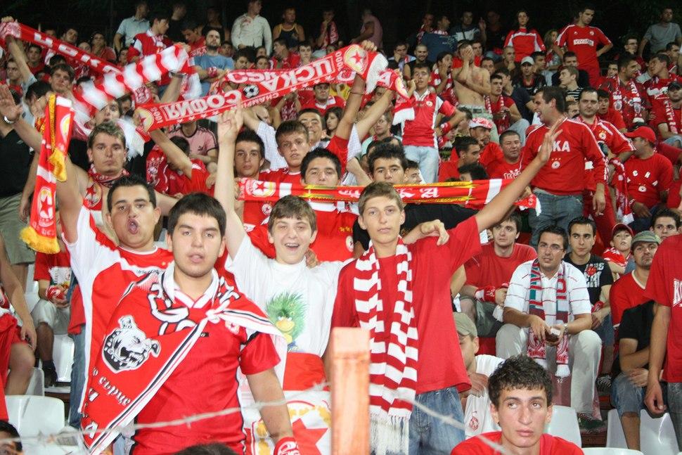 CSKA SOFIA RED HEARTS FANS (1295834305)