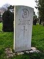 CWGC graves at Cathays Cemetery, December 2020 04.jpg
