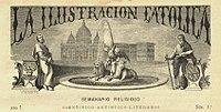 Cabecera de la revista La Ilustración Católica.jpg