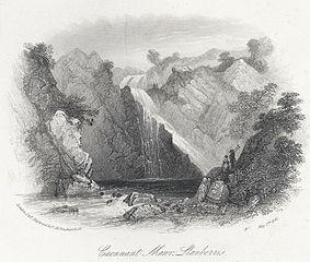 Caennant Mawr, Llanberris