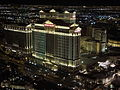 Caesars Palace at Night in Las Vegas Nevada.JPG