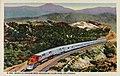Cajon Pass CA - Santa Fe Streamliner Ascending Cajon Pass (NBY 430931).jpg