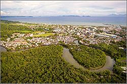 Calbayog city view