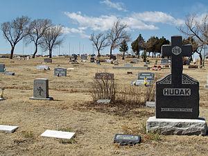 Calhan, Colorado - The Calhan cemetery