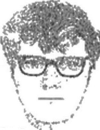 Murder of Tammy Alexander - Forensic sketch of the man seen with Alexander who may have been involved with her death.