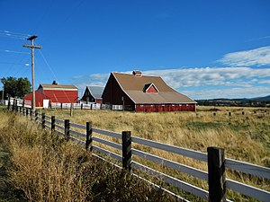 National Register of Historic Places listings in Spokane County, Washington - Image: California Ranch NRHP 80004010 Spokane County, WA