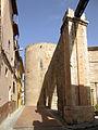 Calle del Argén, aqüeducte i torre del Botxí (Sogorb).jpg