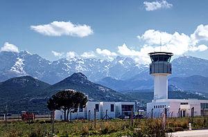 Calvi – Sainte-Catherine Airport - Image: Calvi Sainte Catherine