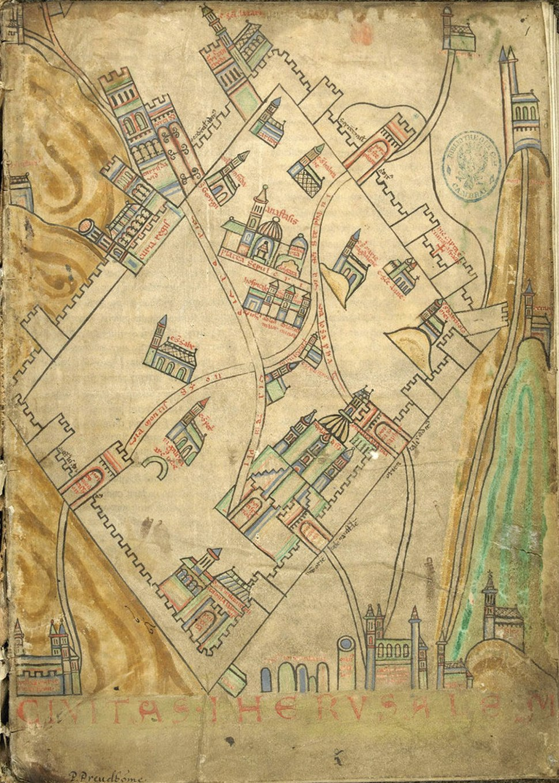 Cambrai map