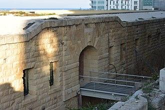 Cambridge Battery - The main entrance with the bridge
